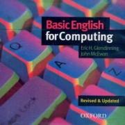 Basic English for Computing: Audio CD by Eric Glendinning