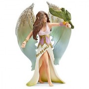 Schleich Standing Surah Toy Figure with Bird