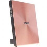 Външно USB DVD записващо устройство ASUS SDRW-08U5S-U Ultra-thin, USB 2.0, розово, DVD-RW-ASUS-SSDRW-08U5S-U
