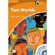 Two Worlds Level 4 Intermediate Book with CD-ROM and Audio CD Pack by Helen Everett-Camplin
