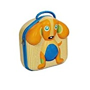 Oops Little Helper 3D Hi-Moulded Character Lunch Box with Super Cute Dog Design (Multi-Colour)
