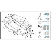 Scut metalic motor FIAT Doblo - Motorizare 1.6, 1.9D (2001)