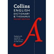 Collins English Dictionary and Thesaurus (Pocket) by Collins Dictionaries