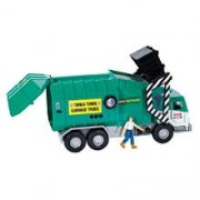 Tonka Mighty Motorized Garbage Truck with Figure