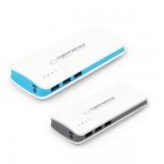Acumulator Extern 3 USB Real 8000mAh Esperanza Radium Power Bank