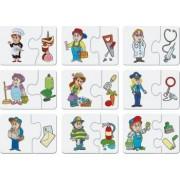 Puzzle in 2 piese - Invatam meseriile