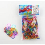 Recharges 600 Élastiques Rainbow Loom Multicolore