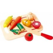 Bucatarie copii New Classic Toys Cutting Meal Vegetables 8 Pcs
