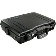 Peli 1495CC1 - Valigetta per PC portatile con interno in schiuma, colore: Nero