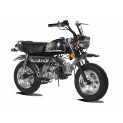 Moto MONKEY 50 SKYMINI - SKYTEAM - Chrome