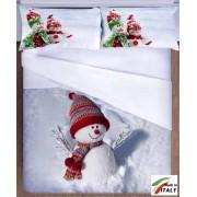 Il Copripiumini Matrimoniali in Stampa 3D con pupazzo di neve