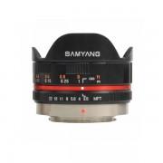 Obiectiv Samyang 7.5mm 1:3.5 UMC Fisheye Black montura Micro Four Thirds