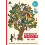 The British History Timeline Wallbook: Unfold the Story of Great Britain - From the Dinosaurs to the Present Day! by Christopher Lloyd