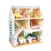 Cubic Fun P645H - 3D Puzzle La Casa delle Bambole la Casa dei Sogni 4 Stanze