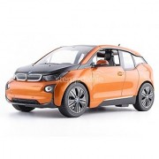 Radio Remote Control 1/14 Scale BMW i3 Authentic Body Styling RC Vehicles (Orange)