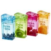 Juice / Drink in the Box 4 Kleuren - Vier Hervulbare Drinkpakjes