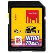 Strontium 32 GB NITRO SDHC NITRO 466X Memory Card - Class-10