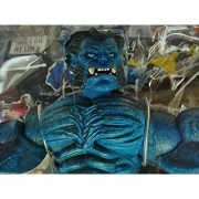 Qiyun Toy Biz Beast Series IV Marvel Legends w 32 Page Comic x Men The Beast Poseable 086892703793