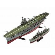 Tribal Class Destroyer + HMS Ark Royal