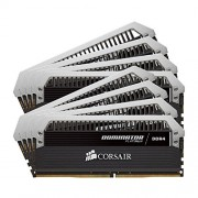 Corsair CMD64GX4M8A2400C14 Dominator Platinum Memoria per Desktop di Livello Enthusiast 64 GB (8x8 GB), DDR4, 2400 MHz, CL14, con Supporto XMP 2.0, Nero