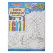 Canvas Painting Set - Angel, Dove & Cross: Arts & Crafts - Kits
