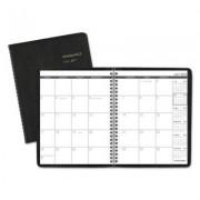 Monthly Planner, 6 7/8 X 8 3/4, Black, 2016-2017
