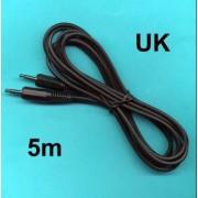 5m 3.5mm MONO Miniphone Jack to Jack Cord