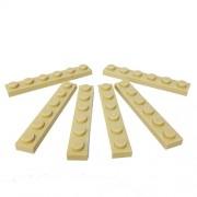 Lego Parts: Plate 1 x 6 (Tan)