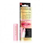 Eveline Delikatny peeling do ust Lip Scrub 8w1, -