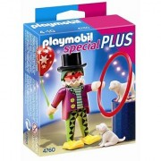 PLAYMOBIL Clown with Dog Show