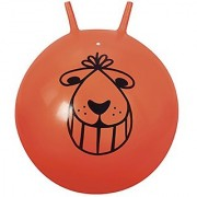 Space Hopper Ball - Retro Orange Bouncing Ride-on Ball (colors may vary)