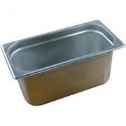 Tava inox GN 1/3 h 100 mm – 325x176x100 mm