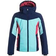 Roxy Sassy Veste de ski pour fille Bleu Bleu XL Azul (Paradise Pink)