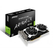 MSI Geforce GTX950 Armor OC Edition (2GB, GDDR5, 6610 MHz Memory, Boost Clock : 1253 MHz , Base Clock : 1076 MHz) PCI-E 16X Graphics Card