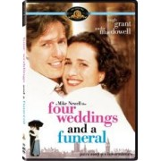 FOUR WEDDINGS AND A FUNERAL DVD 1994