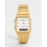 Casio Электронные часы-браслет Casio AQ-230GA-9DMQYES - Золотой