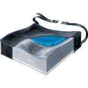 "Bariatric Gel Foam Contour Cushion with Low-shear Cover, 20"" x 16"" x 3-1/2"" Part No. 751635A Qty 1"