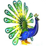 Lionsland Peacock - National Bird 3D Puzzle Toy for Kids Creative Attention Building -Easy to Assemble-Min Age-3 Years