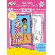Galt Fashion Girl Club Colouring Book