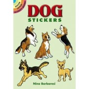 Dog Stickers by Nina Barbaresi