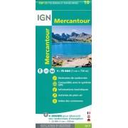 Fietskaart - Wandelkaart 10 Top75 Mercantour | IGN