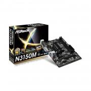 Carte mre Micro ATX ASRock N3150M avec Processeur Intel Celeron N3150 - 2 x SATA 6 Gb/s - 1 x PCI Express 2.0 x16 - USB 3.0