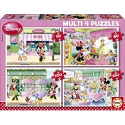 Educa - 15614 - Puzzle - Multi 4 en 1 Minnie