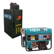 Benzinmotoros áramfejlesztő, HAE-3 indító automatika, max.6500VA, 3f (EGM-65 AVR-3E) (8896120-AU1)
