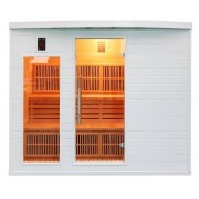 Poolstar Sauna Soleil Blanc 5 056