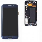 Display cu Touchscreen Si Rama Samsung Galaxy S6 edge+ G928 Original Swap Bluemarin