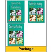 Corrective Reading Comprehension Level C, Teacher Materials Package by McGraw-Hill Education