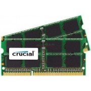 Memorie Laptop Crucial SO-DIMM DDR3, 2x8GB, 1333MHz, CL9, pentru Mac