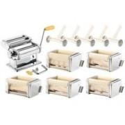 Rosenstein & Söhne Machine à pâtes manuelle NM-100 avec 6 laminoirs