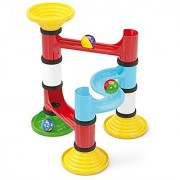 Quercetti Migoga Junior Marble Run First Ball Track Set for Ages 18 Months + (Made in Italy)